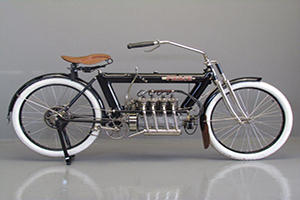 AMERICA'S FIRST FOUR - CYLNDER MOTORBIKE FOR SALE